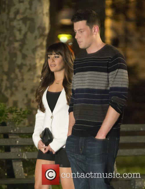 Lea Michele and Cory Monteith 2