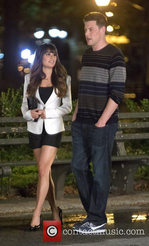 Lea Michele and Cory Monteith 3