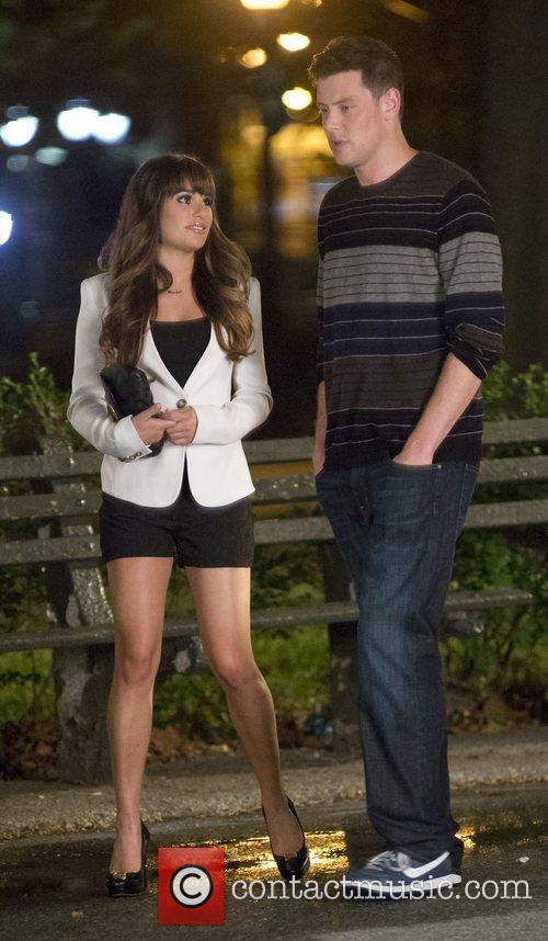 Lea Michele and Cory Monteith 4