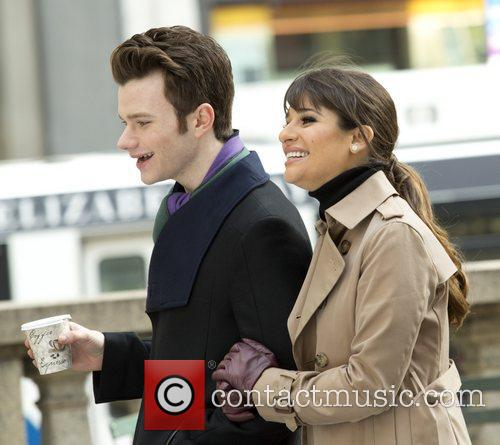 Chris Colfer and Lea Michele 7
