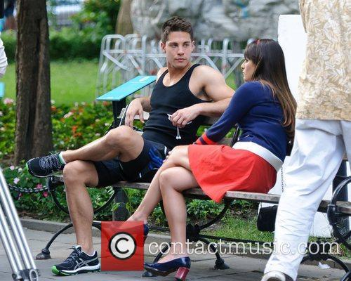 lea michele and dean geyer on the 4030253