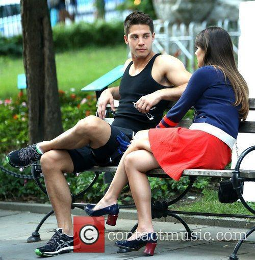 lea michele and dean geyer on the 5892817