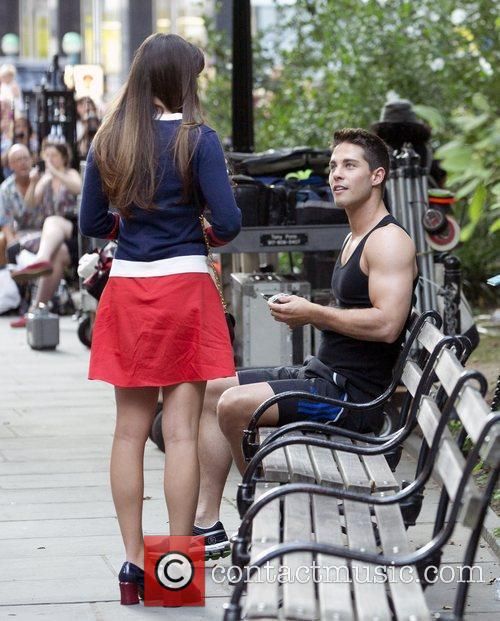 lea michele and dean geyer on the 5892818