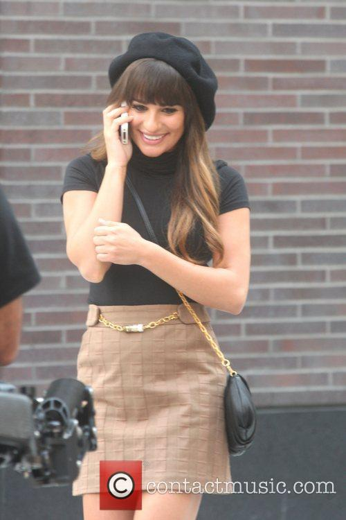 Lea Michele and Glee 9