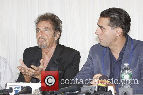 Al Pacino, Bobby Cannavale Meet, Broadway, Glengarry Glen Ross, Ballet Hispanico. New York, City