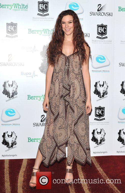 joss stone global angel awards held at 3637859