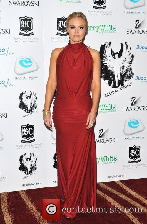 Michelle Dewberry 'Global Angel Awards' held at the...