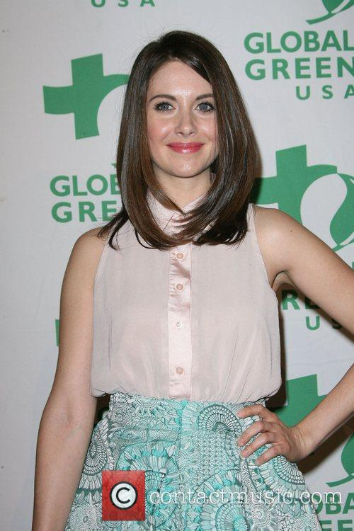 Alison Brie Global Green USA's 9th Annual Pre-Oscar...