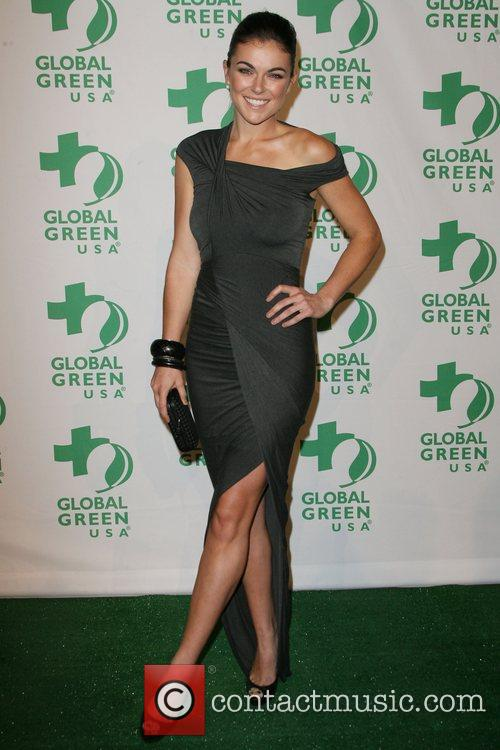 Serinda Swan Global Green USA's 9th Annual Pre-Oscar...