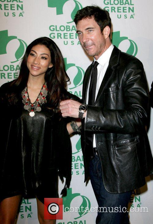 Shasi Wells and Dylan McDermott Global Green USA's...