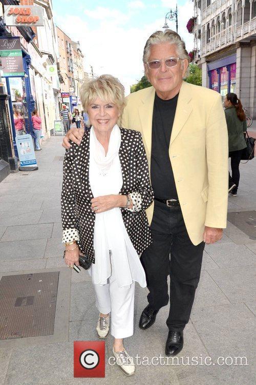 TV presenter Gloria Hunniford with husband and celebrity...