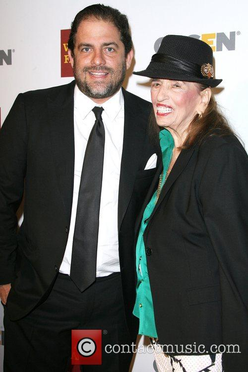 Brett Ratner and his grandmother Fanita Ratner 8th...