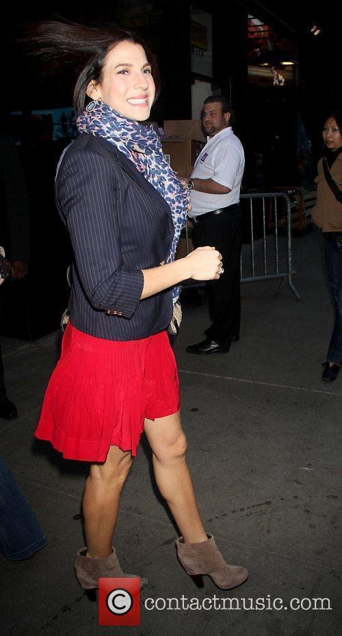 Celebrities arriving at ABC Studios for 'Good Morning...