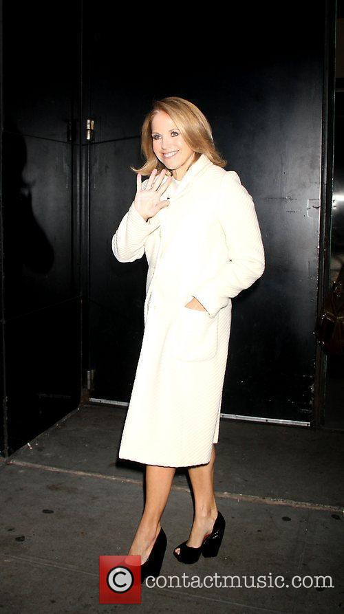 Katie Couric Celebrities arriving at ABC Studios for...