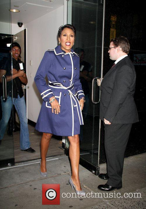 Robin Roberts Celebrities arriving at ABC Studios for...