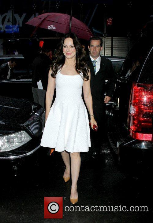 Madeleine Stowe at ABC Studios for 'Good Morning...