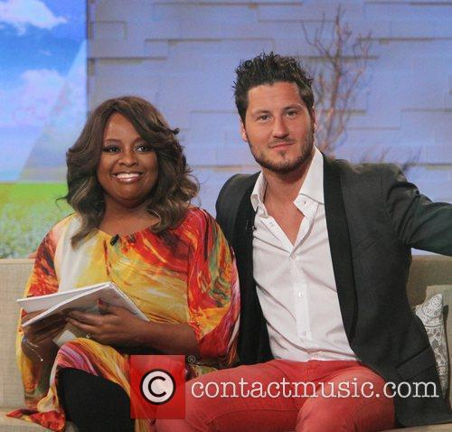 Sherri Shepherd, Val Chmerkovskiy and Abc Studios 2