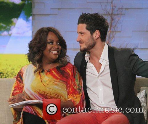 Sherri Shepherd, Val Chmerkovskiy and Abc Studios 3