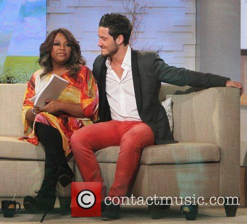Sherri Shepherd, Val Chmerkovskiy and Abc Studios 4