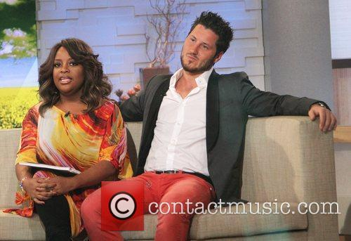 Sherri Shepherd, Val Chmerkovskiy and Abc Studios 5