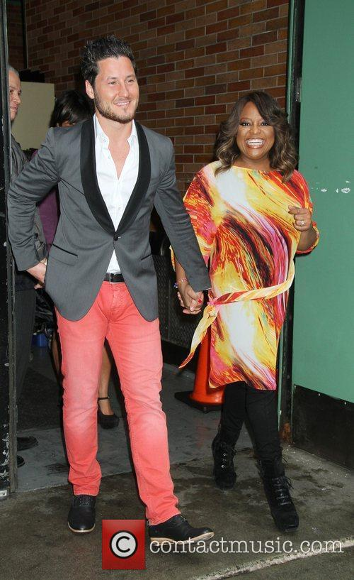 Sherri Shepherd, Val Chmerkovskiy and Abc Studios 6