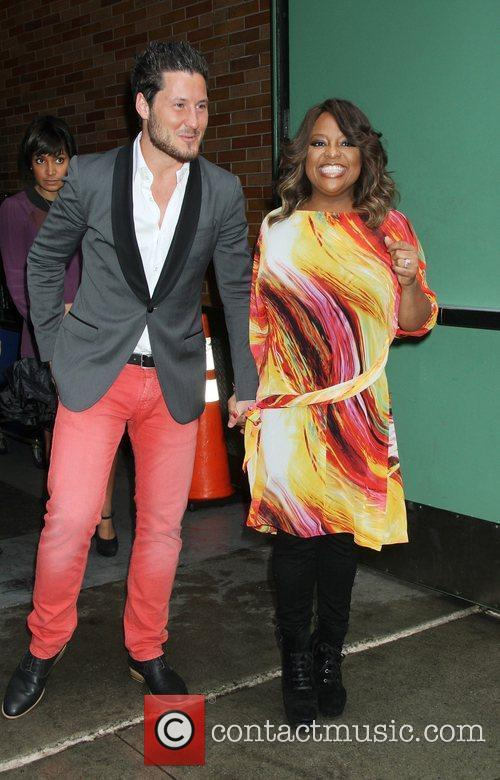 Sherri Shepherd, Val Chmerkovskiy and Abc Studios 1