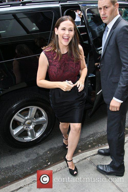 Jennifer Garner and Good Morning America 4