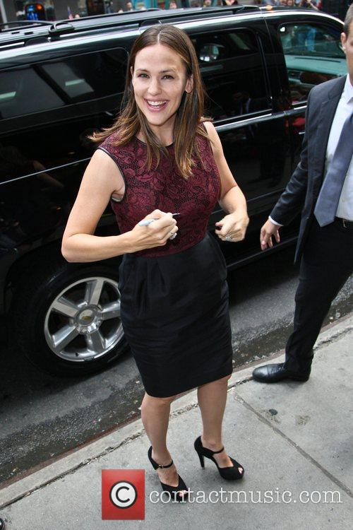 Jennifer Garner and Good Morning America 6