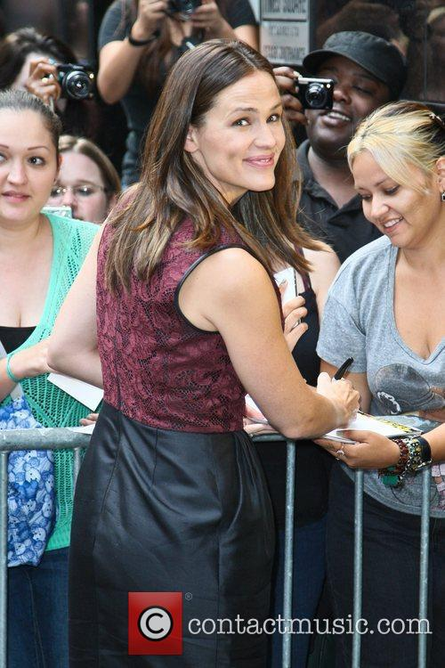 Jennifer Garner and Good Morning America 8