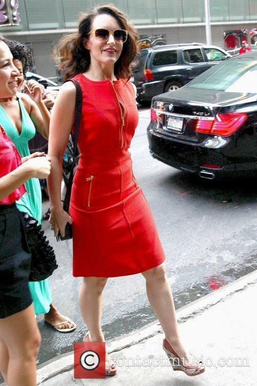 Actress Kristen Davis Celebrities outside ABC studios ahead...