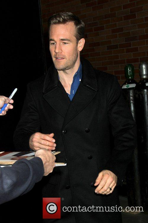 James Van Der Beek, Good Morning America and Abc Studios 1