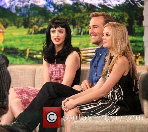 Krysten Ritter, James Van Der Beek, Dreama Walker, Good Morning America and Abc Studios 4