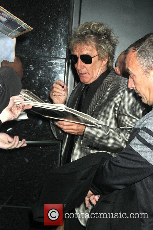 Rod Stewart and Good Morning America 1