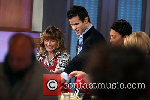 Kris Humphries and Good Morning America 6