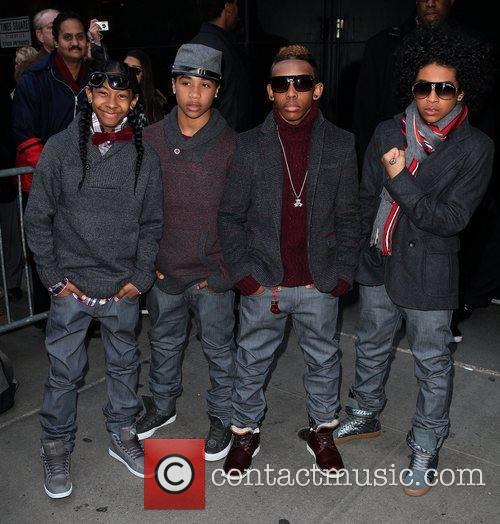 Mindless Behavior and Abc Studios 6
