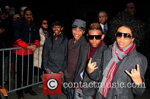 Mindless Behavior and Abc Studios 8