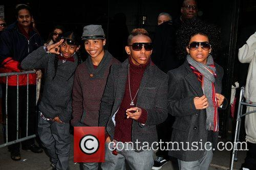 Mindless Behavior and Abc Studios 2