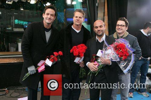 Josh Hopkins, Brian Van Holt, Dan Byrd, Ian Gomez and Abc Studios 2