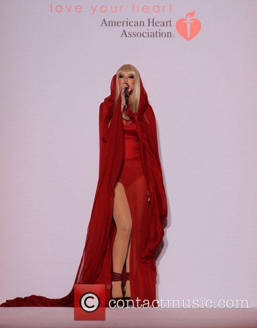 Kaya Jones Style Fashion Week hosts Go Red...
