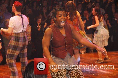 Uzo Aduba The 100th Performance of the Broadway...