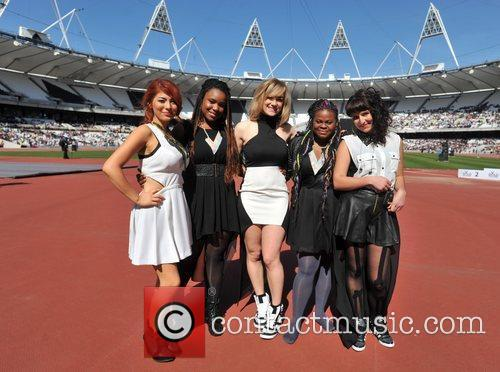 Gold Challenge Olympic Stadium Event held at the...