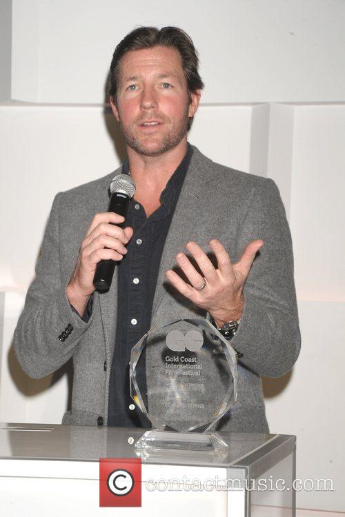 Ed Burns is honored at the Gold Coast...