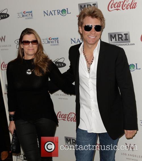 Jon Bon Jovi and Dorothea Hurley 2