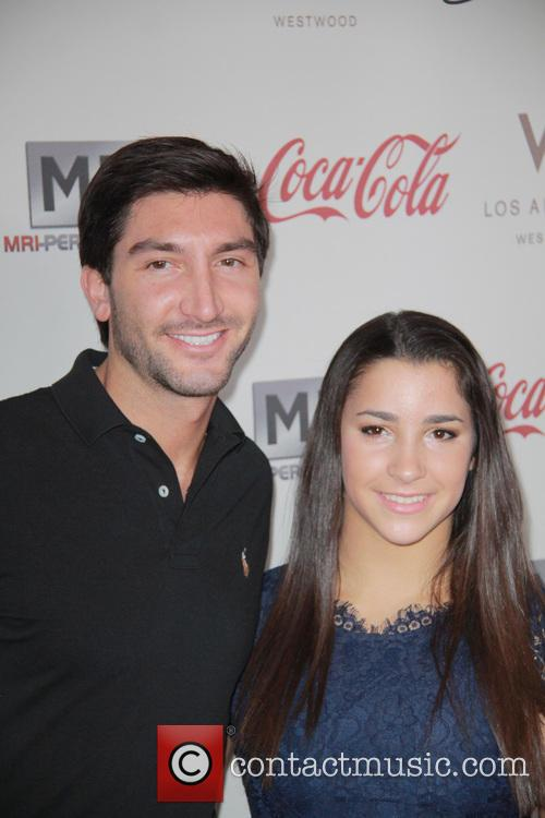 Evan Lysacek and Ally Raisman 4