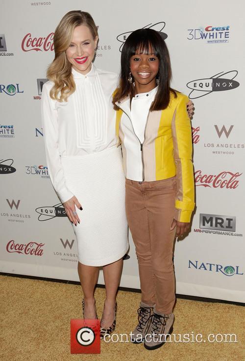Julie Benz; Gabby Douglas 'Gold Meets Golden' event...