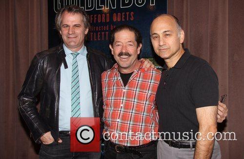 Bartlett Sher, Jonathan Hadary and Ned Eisenberg 1