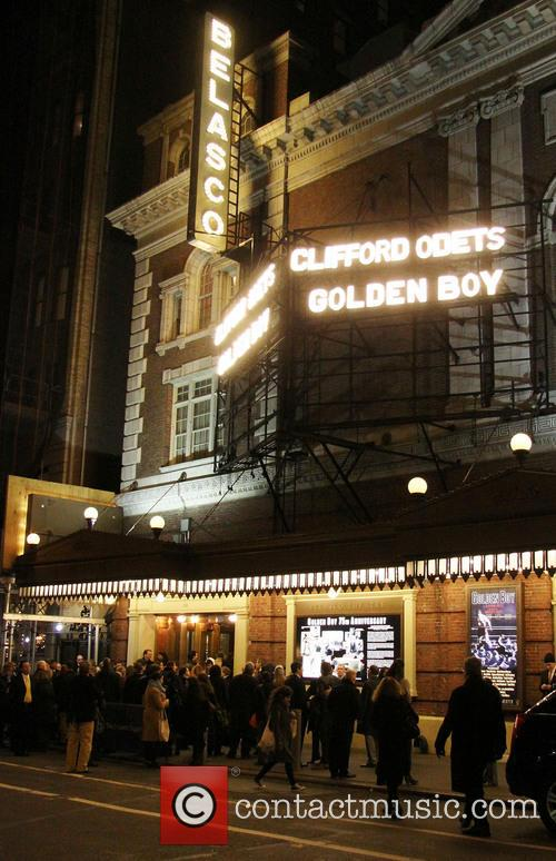 Atmosphere, Belasco Theatre, Broadway, Lincoln Center Theater's and Golden Boy 4