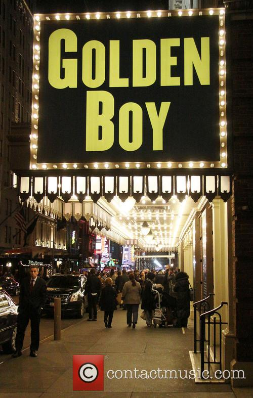 Atmosphere, Belasco Theatre, Broadway, Lincoln Center Theater's and Golden Boy 2