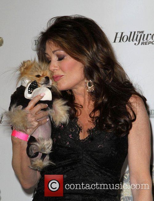 Lisa Vanderpump and her dog Giggy 1st Annual...