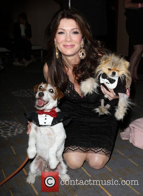 Lisa Vanderpump with Uggie and Giggy 1st Annual...